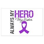 Pancreatic Cancer Sister Large Poster