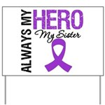 Pancreatic Cancer Sister Yard Sign