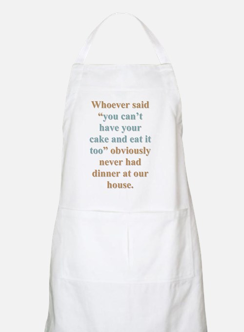 """""""Our House"""" BBQ Apron"""