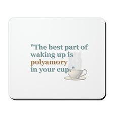 """""""Waking Up"""" Mousepad"""