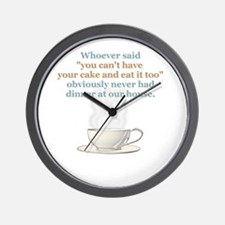 """""""Spice of Life"""" Wall Clock"""