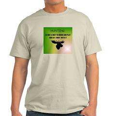 HUNTING GAME Ash Grey T-Shirt