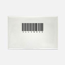 Illinois Rectangle Magnet (10 pack)