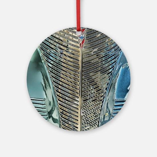 Blue Grill Ornament (Round)