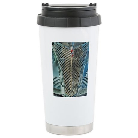 Blue Grill Stainless Steel Travel Mug