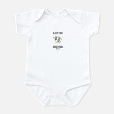 """Adictid.com """"Cards"""" Infant Bodysuit"""
