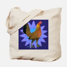 Starburst Gamefowl Hen Tote Bag