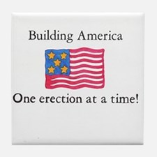 Building America Tile Coaster