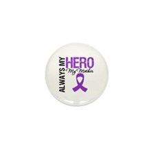 Pancreatic Cancer Mother Mini Button (100 pack)