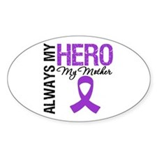 Pancreatic Cancer Mother Oval Sticker (10 pk)