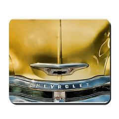 Yellow Chevy Hood Mousepad