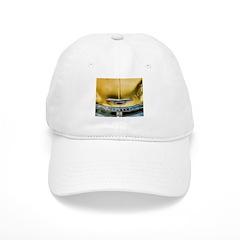 Yellow Chevy Hood Baseball Cap