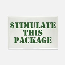 Stimulate This Package Rectangle Magnet