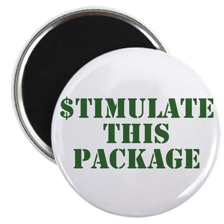 Stimulate This Package Magnet