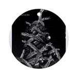 Christmas in the stars Ornament (Round)