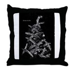 Christmas in the stars Throw Pillow