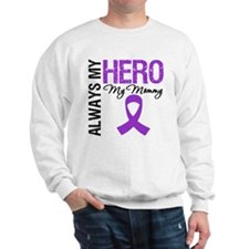 Pancreatic Cancer Mommy Sweatshirt