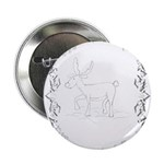 "Reindeer 2.25"" Button (100 pack)"