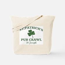 St Joseph pub crawl Tote Bag