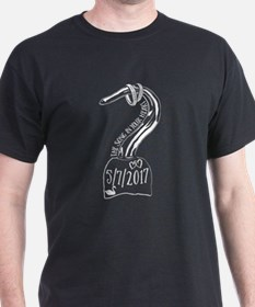 OUAT Hook Swan Wedding T-Shirt