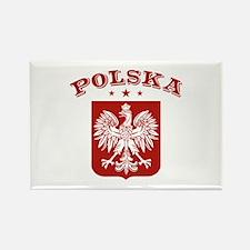 Polska Rectangle Magnet