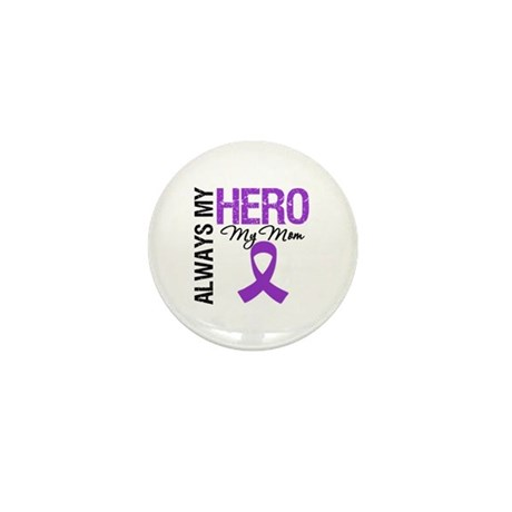 Pancreatic Cancer Mom Mini Button