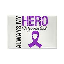 Pancreatic Cancer Husband Rectangle Magnet