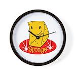 Sponge Wall Clock