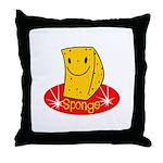 Sponge Throw Pillow
