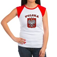 Polska Women's Cap Sleeve T-Shirt