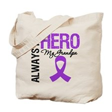 Pancreatic Cancer Grandpa Tote Bag