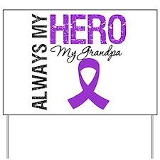Pancreatic Cancer Grandpa Yard Sign