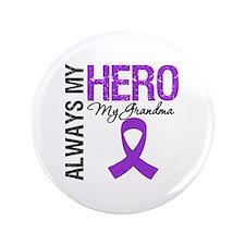 """Pancreatic Cancer Grandma 3.5"""" Button"""