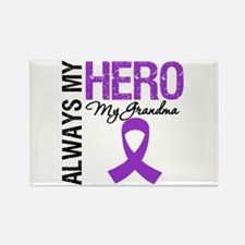 Pancreatic Cancer Grandma Rectangle Magnet