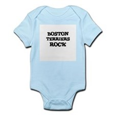 BOSTON TERRIERS ROCK Infant Creeper