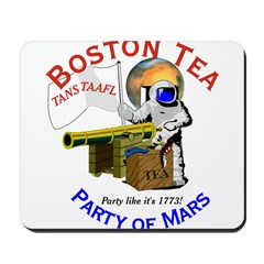Boston Tea Party of Mars Mousepad