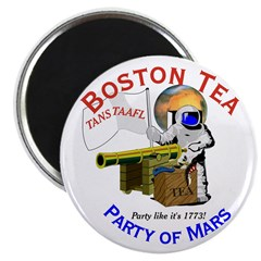 Boston Tea Party of Mars Magnet
