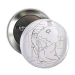 "Santa and his bag 2.25"" Button (100 pack)"