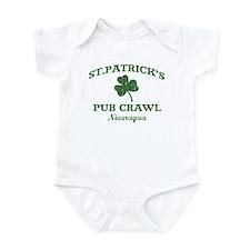 Nicaragua pub crawl Infant Bodysuit