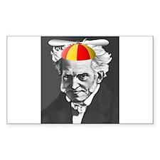 Rectangle Sticker - Schopenhauer