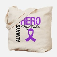 Pancreatic Cancer Father Tote Bag