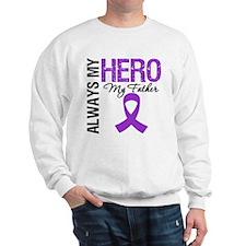 Pancreatic Cancer Father Sweatshirt