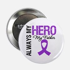 """Pancreatic Cancer Father 2.25"""" Button"""