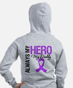 Pancreatic Cancer Daddy Zip Hoody