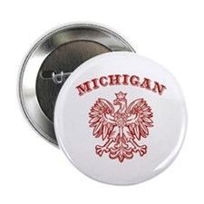 "Michigan Polish 2.25"" Button"