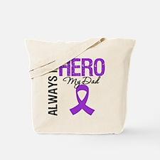 Pancreatic Cancer Dad Tote Bag