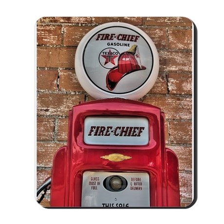 Fire Chief Pump Mousepad