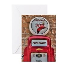Fire Chief Pump Greeting Cards (Pk of 10)
