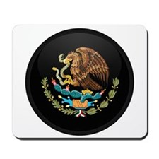 Coat of Arms of Mexico Mousepad