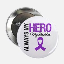 """Pancreatic Cancer Brother 2.25"""" Button"""